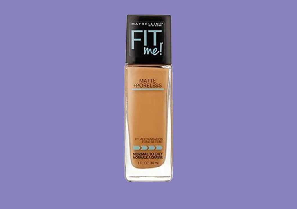 Maybelline New York Fit Me Matte Plus Poreless Foundation Makeup