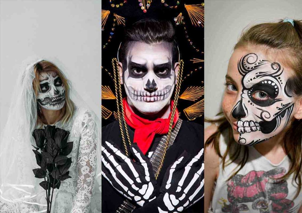3 Day Of The Dead Makeup Ideas