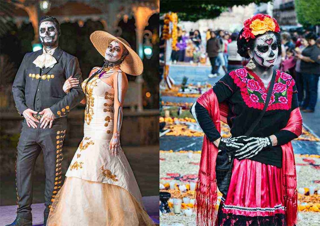 Day Of The Dead Dress Ideas